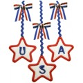 4th of July Ric Rac USA Applique